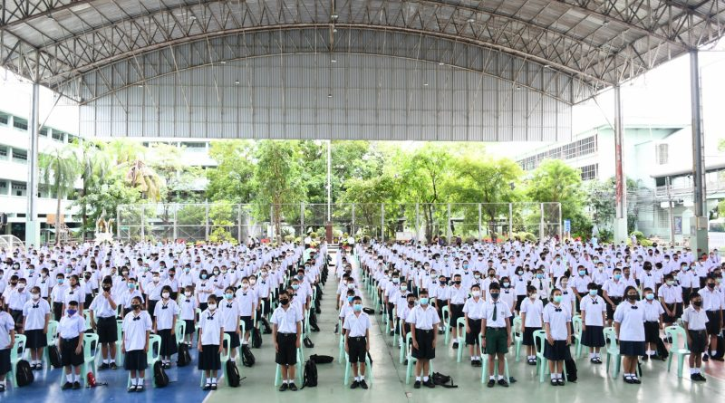 ประชุมเตรียมความพร้อม นักเรียนโรงเรียนธัญรัตน์
